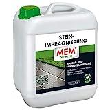 MEM Stein-Imprägnierung - 5 L - Wasserabweisend – Schmutzabweisend – Abperleffekt –...