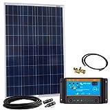 Offgridtec Solar Bausatz 100 wp - 12 V Solaranlage, Solarmodul und Victron Blue Solar 10A PWM...