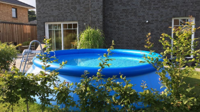 Intex Pool 366 x 91 cm ohne Pumpe - der Sommer kommt!