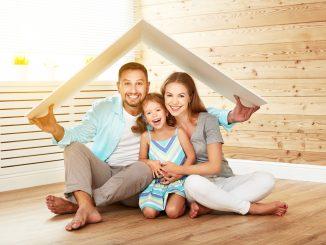 Familie unter einem Dach