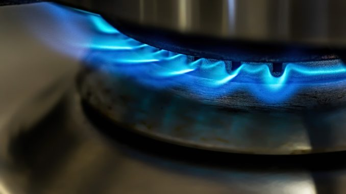 Gas in der Nahaufnahme