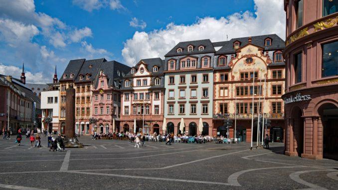Historischer Marktplatz in Mainz