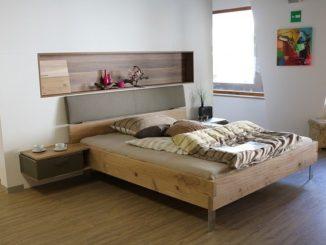 Ein Schlafzimmer in der Nahaufnahme