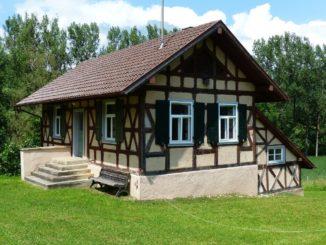 Altes Fachwerkshaus saniert